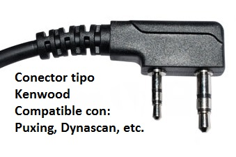 Connector tipo Kenwood